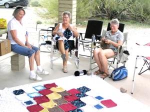 Marlene, Arlene & Sharon