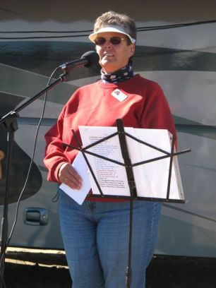 Susie Orr. She and Denny host the SKP Happy Hour. They're also the lead hosts for the Mesa Rally.