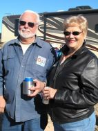 Jerry & Earlene, part of the Mesa Rally host team.