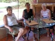 Elaine Van den Berg's patio, La Penita Mx.