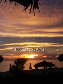 Sunrise at Foule Point