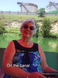 Cruising the canal