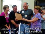 Connie & Ron adopt Dave & Kathy